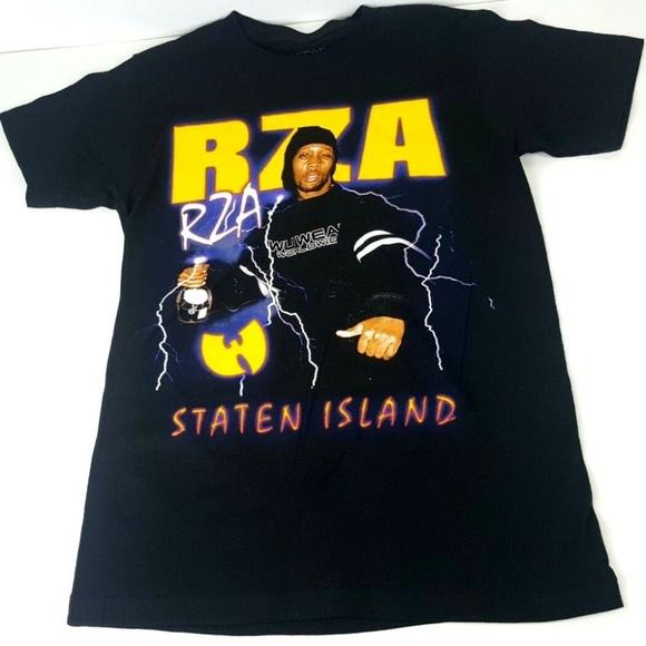 2a9d4267ffa Wutang Clan RZA Staten Island Rap Tee Small S. M 5c5893e10cb5aafa8c6afa82